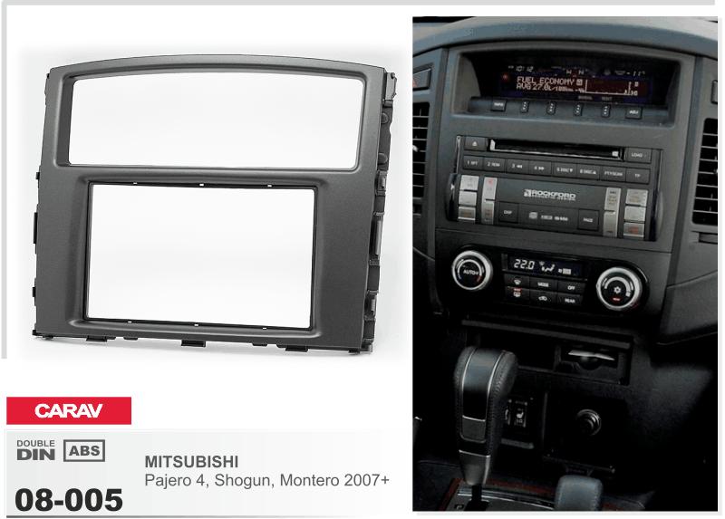 Autorradio radio diafragma 11-460 doble din para Skoda Fabia 2003-2006