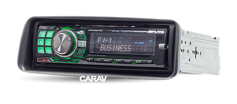 206 1998-07 Car Stereo Radio Fascia Dash Panel 1Din Frame Trim Kit For PEUGEOT