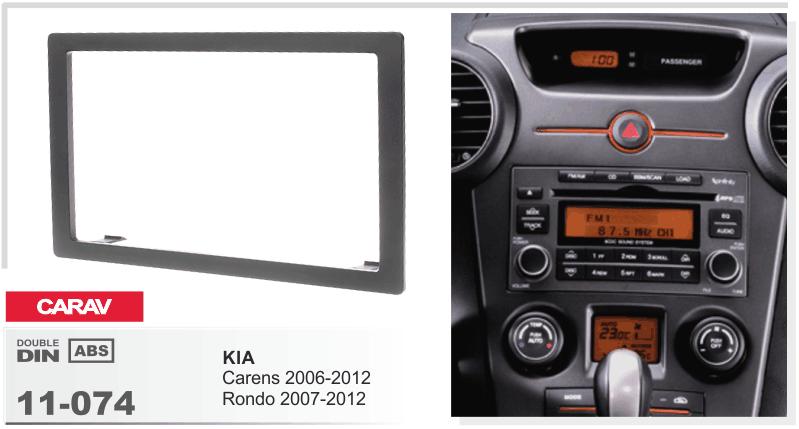 Details About Car Stereo Fascia Dash Panel 2din Frame Trim Kit For Kia Carens 20062012rondorhebaycouk: 2007 Kia Rondo Radio Antenna At Gmaili.net