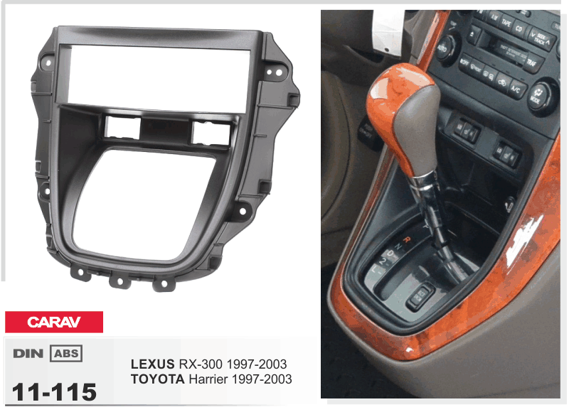 2000 lexus rx300 radio dash kit