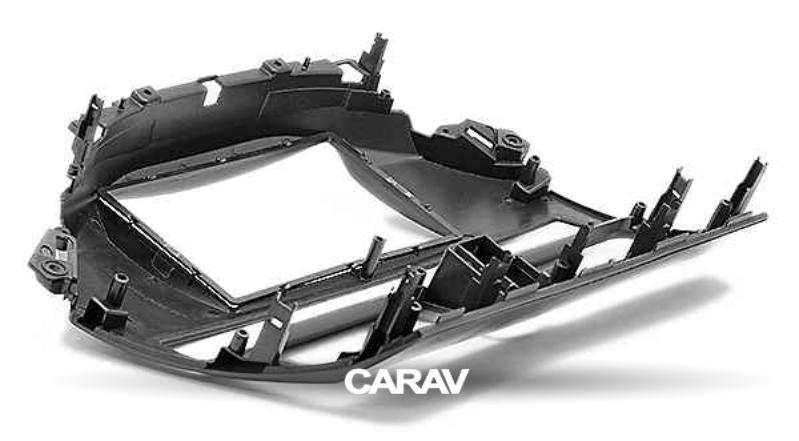 Car Stereo Radio Fascia Panel 2 Din Frame Kit For Honda