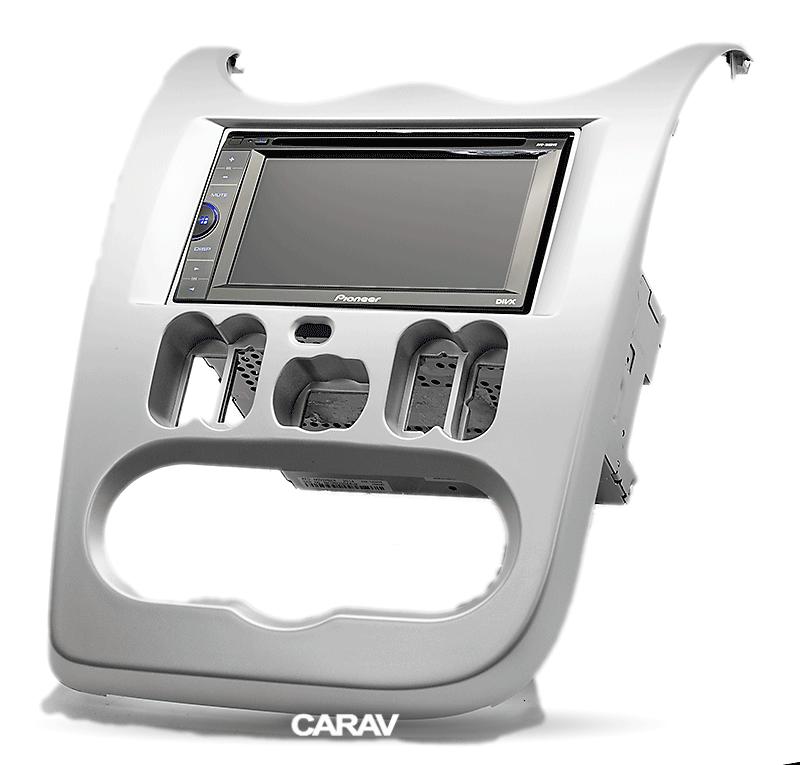 Carav 11-575 Fascia Panel Installation Kit for Nissan np300 NAVARA Piano Lacquer