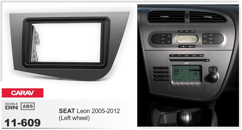 Carav CARAV 08-009 Car Radio Stereo Face Facia Fascia Panel Frame